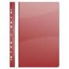 Gyorsfűző, lefűzhető, PVC, A4, DONAU, piros (10db)