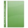 Gyorsfűző, lefűzhető, PVC, A4, DONAU, zöld (10db)
