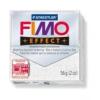 Gyurma, 56 g, égethető, FIMO Effect, csillámos fehér