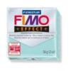 Gyurma, 56 g, égethető, FIMO Effect, pasztell menta