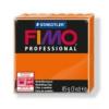 Gyurma, 85 g, égethető, FIMO Professional, narancssárga