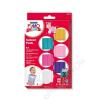 Gyurma készlet, 6x42 g, égethető, lányoknak, FIMO Kids Color Pack, 6 különböző szín (FM803202)