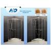 H2O Projecta 80x80 szögletes  zuhanykabin, fabrik üveggel, zuhanytálcával, szifonnal
