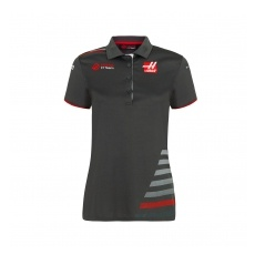 Haas F1 Team női gallĂŠros póló grey 2018 - XL