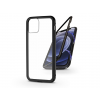 Haffner Apple iPhone 12 Mini mágneses, 2 részes hátlap előlapi üveg nélkül - Magneto fekete