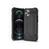 Haffner Apple iPhone 12 Pro Max ütésálló hátlap - Armor - fekete