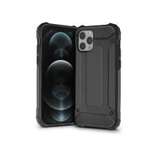 Haffner Apple iPhone 12 Pro Max ütésálló hátlap - Armor - fekete mobiltelefon kellék