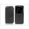 Haffner Apple iPhone 6 Plus/6S Plus S-View Flexi oldalra nyíló flipes tok - fekete