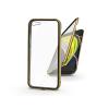 Haffner Apple iPhone 7/iPhone 8/SE 2020 mágneses, 2 részes hátlap előlapi üveggel - Magneto 360 - arany