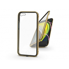 Haffner Apple iPhone 7/iPhone 8/SE 2020 mágneses, 2 részes hátlap előlapi üveggel - Magneto 360 - arany tok és táska