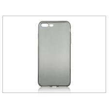 Haffner Apple iPhone 7 Plus szilikon hátlap - Ultra Slim 0,3 mm - fekete tok és táska
