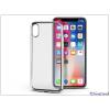 Haffner Apple iPhone X szilikon hátlap - Jelly Electro - ezüst