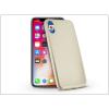 Haffner Apple iPhone X szilikon hátlap - Jelly Flash Mat - gold