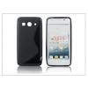 Haffner Huawei Ascend G525 szilikon hátlap - S-Line - fekete