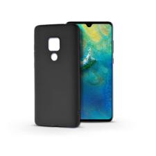 Haffner Huawei Mate 20 szilikon hátlap - Soft - fekete tok és táska
