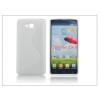 Haffner LG D605 Optimus L9 II szilikon hátlap - S-Line - fehér