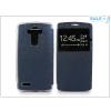 Haffner LG G4 H815 S-View Flexi oldalra nyíló flipes tok - kék