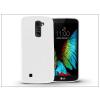 Haffner LG K10 K420N szilikon hátlap - Jelly Flash - fehér