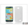 Haffner LG L90 D405 szilikon hátlap - S-Line - fehér