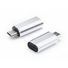 Haffner Lightning - micro USB adapter - ezüst mobiltelefon kellék