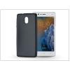 Haffner Nokia 3 szilikon hátlap - Jelly Flash Mat - fekete