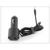 Haffner Nokia 6101/N70/6300/6120 gyári szivargyújtós töltő + USB csatlakozó - DC-22 (ECO csomagolás)