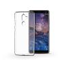 Haffner Nokia 7 Plus szilikon hátlap - Ultra Slim 0,3 mm - transparent