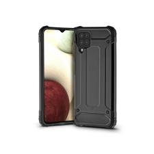 Haffner Samsung A125F Galaxy A12 ütésálló hátlap - Armor - fekete tok és táska