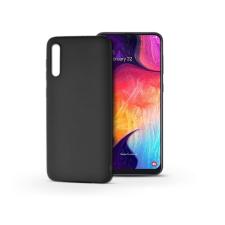 Haffner Samsung A505F Galaxy A50/A30s szilikon hátlap - Soft - fekete tok és táska