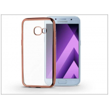Haffner Samsung A520F Galaxy A5 (2017) szilikon hátlap - Jelly Electro - rose gold tok és táska