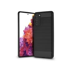 Haffner Samsung G780F Galaxy S20 FE/S20 FE 5G szilikon hátlap - Carbon - fekete tok és táska