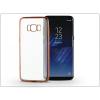 Haffner Samsung G950F Galaxy S8 szilikon hátlap - Jelly Electro - rose gold