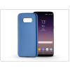 Haffner Samsung G955F Galaxy S8 Plus szilikon hátlap - Jelly Flash Mat - kék