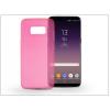 Haffner Samsung G955F Galaxy S8 Plus szilikon hátlap - Ultra Slim 0,3 mm - pink