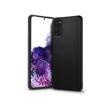 Haffner Samsung G985F Galaxy S20+ hátlap - Liquid Air - fekete tok és táska