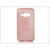 Haffner Samsung J120F Galaxy J1 (2016) szilikon hátlap - Jelly Brush - pink