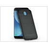 Haffner Samsung J730F Galaxy J7 (2017) szilikon hátlap - Carbon - fekete