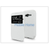 Haffner Samsung SM-G318H Galaxy Trend 2 Lite S-View Flexi oldalra nyíló flipes tok - fehér