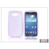 Haffner Samsung SM-G386 Galaxy Core LTE szilikon hátlap - S-Line - lila