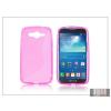 Haffner Samsung SM-G386 Galaxy Core LTE szilikon hátlap - S-Line - pink