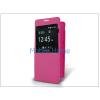 Haffner Samsung SM-G850 Galaxy Alpha S-View flipes tok - pink