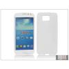 Haffner Samsung SM-G850 Galaxy Alpha szilikon hátlap - S-Line - fehér