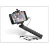 Haffner Selfie Holder szelfi bot exponáló gombbal, 3,5 mm jack csatlakozóval - fekete