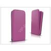 Haffner Slim Flexi Flip bőrtok - Apple iPhone 7 Plus/iPhone 8 Plus - lila