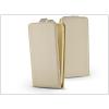 Haffner Slim Flexi Flip bőrtok - Apple iPhone X - gold