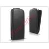 Haffner Slim Flexi Flip bőrtok - Lenovo S90 - fekete