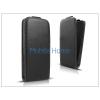 Haffner Slim Flexi Flip bőrtok - Nokia X/X+ - fekete