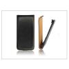 Haffner Slim Flip bőrtok - LG G-Flex D955 - fekete