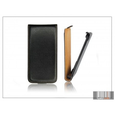 Haffner Slim Flip bőrtok - Samsung i9500 Galaxy S4 - fekete tok és táska