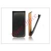 Haffner Slim Flip bőrtok - Samsung SM-G920 Galaxy S6 - fekete
